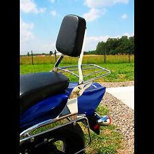 PASSENGER SISSY BAR + LUGGAGE RACK SUZUKI M800 INTRUDER  (2005-2009)