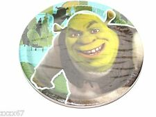 NEW SHREK FOREVER AFTER ARMY DESSERT PLATES  PARTY FAVOR SUPPLIES VERY RARE