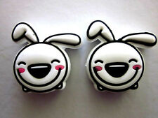 2 Floppy Ears Rabbit Tennis Racquet Vibration Shock Absorber Dampeners Cartoon
