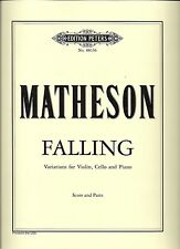 Matheson - FALLING  Variations for Violin, Cello and Piano (Score and Parts)