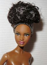 (C) NUDE BARBIE (C) ~ RAVEN BASIC MODEL #8 003 MUSE AA MBILI DOLL FOR OOAK