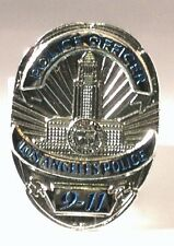 Metal Enamel Pin Badge Brooch LAPD Police 911 Los Angeles Police Dept Law Cop