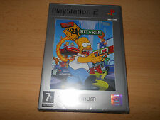 The Simpsons: Hit & Run Platinum PS2 Factory sealed FREE UK POST