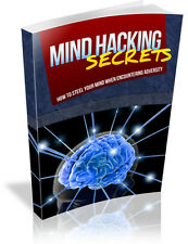Mind Hacking Secrets  + 10 Free eBooks With Resell rights ( PDF )