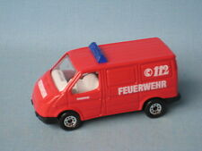 Matchbox Ford Transit Van Fire Feuerwehr Toy Model Van UB Rescue