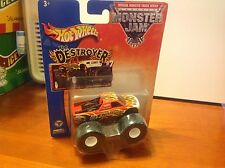 2003 Hot Wheels Monster Jam Truck The Destroyer Metal Collection New in Box 1:64