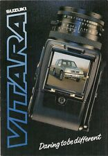 Suzuki Vitara JLX Hard Top 1988-89 UK Market Sales Brochure