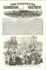 1856 Lord Auckland Preaching Thanksgiving Sermon Westminster Abbey