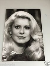 CATHERINE DENEUVE - Photo de presse originale 18x13cm
