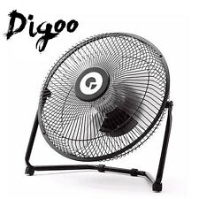 Digoo DF-101 10'' Rotatable USB Rechargeable 18650 Battery Cooling Desk Fan PC