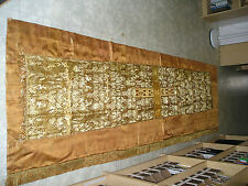 Large cloth of Gold Altar Frontal  humeral veil vestment chalice breviary missal