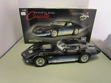 AUTOART 1/18 MILLENNIUM CHEVY MANTA RAY CORVETTE USED VERY NICE *ISSUE* READ