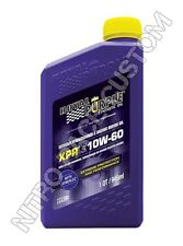 Royal Purple XPR Racing Oil Olio - 10W-60 - 0,946 lt