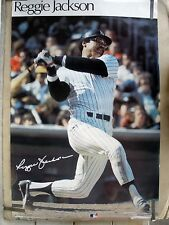 RARE REGGIE JACKSON NY YANKEES 1978 VINTAGE SPORTS ILLUSTRATED SI POSTER