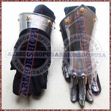 Armour Steel Gothic Gauntlet Gloves Antique Medieval Gloves Iron Gauntlets