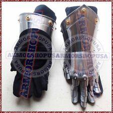 Armour Steel Gothic Gauntlet Gloves Antique Medieval Gloves Iron Gauntlets