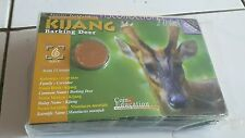 Malaysia Endangered Animal Coin Card no.6 Kijang 10pcs