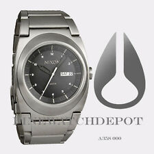 Authentic Nixon Men's Stainless Steel Don Black Watch A358000