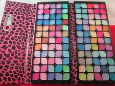 Eye Shadow Palette Book 120 Pearl Colors  In Leopard Folding Pouch # PI