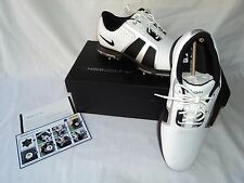 NIKE ZOOM TROPHY 483246 101 WHITE LEATHER WATERPROOF GOLF SHOES Men's Size:9