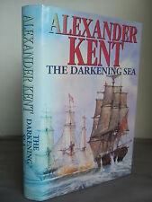 The Darkening Sea by Alexander Kent HB DJ 1993