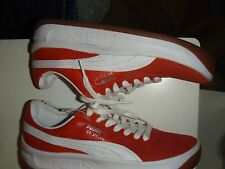 Men's Puma GV Special Red Leather sz 5 NWOB new old stock