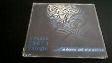 POOH La donna del mio amico PROMO cd 96/3  1 traccia promo radio NM near mint