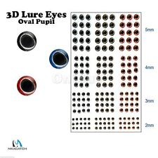 180± 3D Holographic Fishing Lure Eyes 4-Size For Fly Tying Jigs Craft Dolls