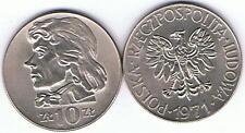 10 Zl Tadeusz  Kosciuszko 1971, RRR,