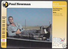 PAUL NEWMAN Cool Hand Luke Actor GROLIER STORY OF AMERICA PICTURE CARD