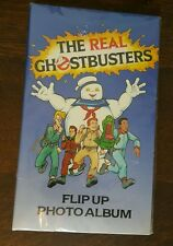 Vintage The Real Ghostbusters Photo Album Unused 1988 Ghost Busters