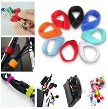21pcs Reusable Straps Wrap Wire Organizer Cable Holder Tie Rope Fastener