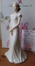 THE ENGLISH LADIES Co - BONE CHINA FIGURINE - FROM THIS DAY FORWARD  - WEDDING