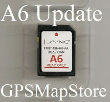 Ford Lincoln GPS Navigation SD Card Map *See chart for compatible vehicles year