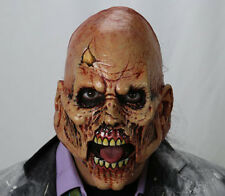 Mad Monster Walker Zombie with Moving Jaw Scary Adult Latex Halloween Mask