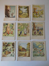 Set Lot GERMAN Postcards GRIMM BROTHERS FAIRYTALES HANS GLOGNER Antique C FAY