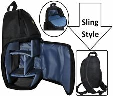 Sling Style Shoulder Backpack Camera Bag For Panasonic HC-V270 HC-W570 HC-V160