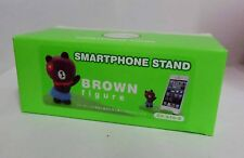 Brand New Line Brown Bear Figure Hello, Friends ! Smartphone Stand Holder