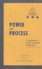 Power & Process Commentary on Eminent Domain & Condemnation 1969 Dexter MacBrid