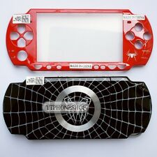 Black & Red Housing Faceplate Case Cover for PSP 2000 ( Spider Limited Edition)