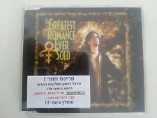 PRINCE  the greatest romance ever sold  ISRAEL ISRAELI PROMO CD SINGLE