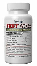#1 Testosterone Booster Supplement TEST WORx by Superior Labs