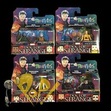 Marvel MINIMATES Series 70 DOCTOR STRANGE Variant Action Figure SET 4x2-Packs!