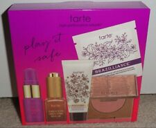 TARTE PLAY IT SAFE ESSENTIAL SET KIT 5 PC BRONZER BRAZILLIANCE MARACUJA NIB