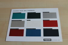 140756) Mazda 323 - Farben & Polster - Prospekt 01/1997