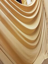 """1M NUDE GOLD  COLOURED 4 WAY LYCRA STRECH  FABRIC 58"""" WIDE"""