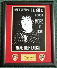 Keith Moon 'Famous Quotes' () Framed Print/Plectrums Buy 2, get 3rd Half Price