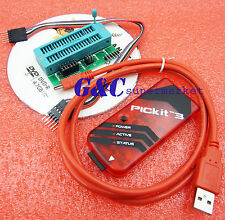 PICkit3 PIC KIT3 debugger programmer + Programming Adapter M99