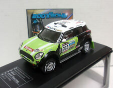 MINI ALL 4 RACING #302 PETERHANSEL PRIMERO WINNER DAKAR 2013 IXO  DC COLLE