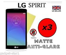 3x HQ MATTE ANTI GLARE SCREEN PROTECTOR COVER LCD GUARD FILM FOR LG SPIRIT